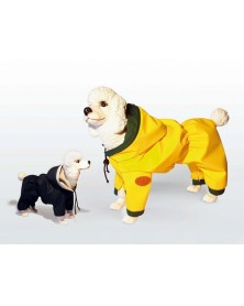 DOG LINE Tutina per cani impermeabile sfoderato con cappuccio estremamente coprente
