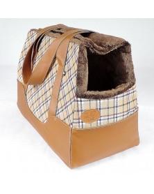 DOG LINE  Borsa/Trasportino in tessuto impermeabile e interno eco-pelliccia